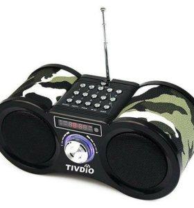 Портативная колонка с радио