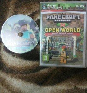 Диск Minecraft альманах 34 open world. Для ПК