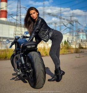 Уникальный проект на базе Triumph SpeedMaster