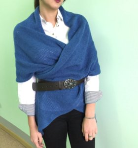 стильный шарф плед