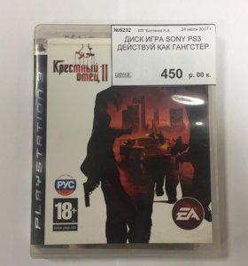 Диск PS3 Крёстный отец 2