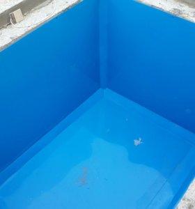 Облицовка бетонных резервуаров пластиком