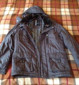 Куртка тёплая стильная