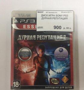 Игра для PS3 Дурная репутация2
