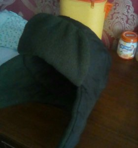 Подростковая.зимняя шапка