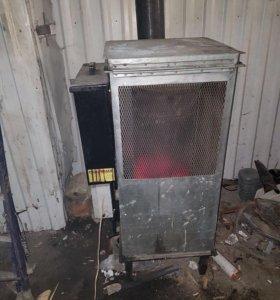 Теплодувка, печка на отработанном масле