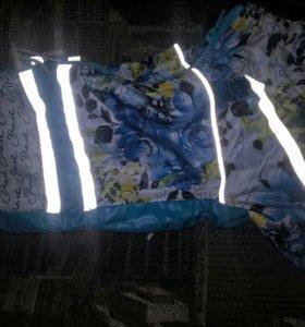 Курточки весенние со светоотражателями для собак н