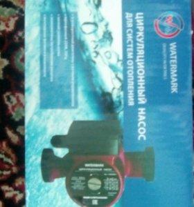 Циркуляционный насос, радиаторы для отопления.