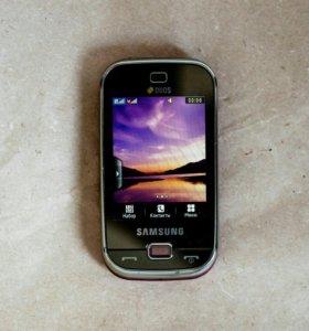 Мобильный телефон SAMSUNG B5722 Duos (розовый)