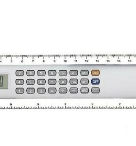 Калькулятор-линейка 20см 8-разрядный