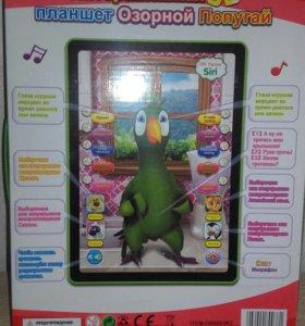 Новый Интерактивный 3D планшет Озорной попугай: