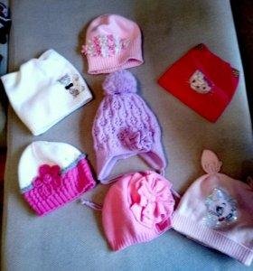 Головные уборы и перчатки для девочки
