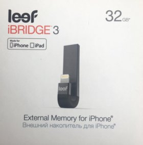 USB флешка Leef iBridge 3 32Gb (черный)