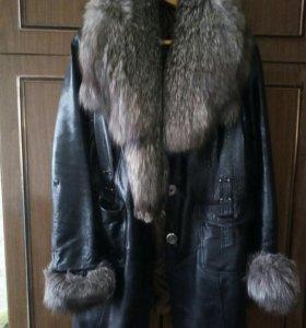 Куртка кожаная,лакировананная