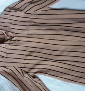 Костюм (блузка-пиджак и брюки)
