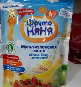 Каша молочная 6+
