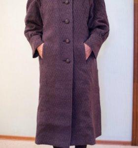 Зимнее пальто 100% шерсть