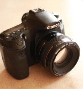 Canon 60D + объектив Canon 50mm 1.4
