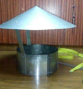 Колпаки, зонты на трубы дымоходов и вентиляции