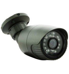2мП камера видеонаблюдения уличная с ИК