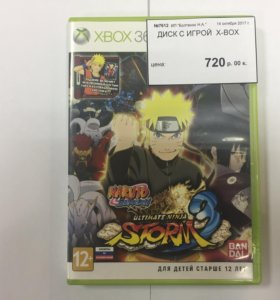 Диск на XBOX 360 Naruto Storm 3
