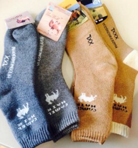 Носки из верблюжей шерсти. Лечебные,очень теплые
