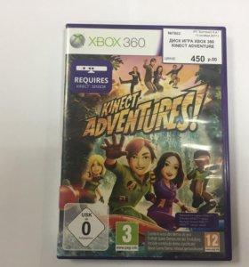 Диск на XBOX 360 Kinect Adventures
