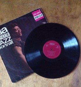 Виниловая пластинка Ella Fitzgerald jazz portrait