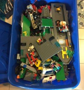 LEGO оригинал 9кг россыпью,наборы и человечки.