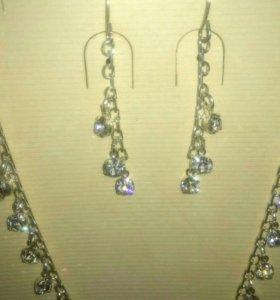 Новые серьги и ожерелье