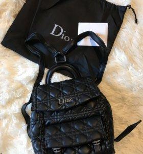 Рюкзак 🎒 Кожа Dior