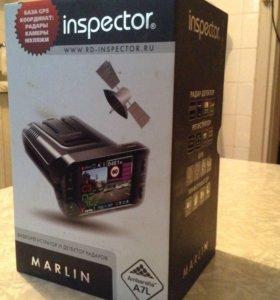 Видеорегистратор автомобильный inspector MARLIN
