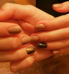 Маникюр+Покрытие ногтей гель лаками