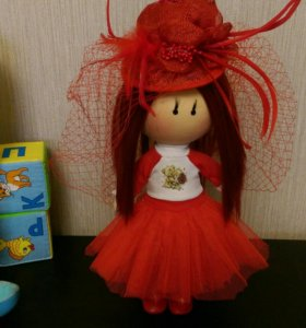 Кукла ручной работы,интерьерная кукла