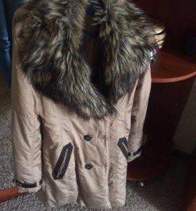 Пальто, тёплое