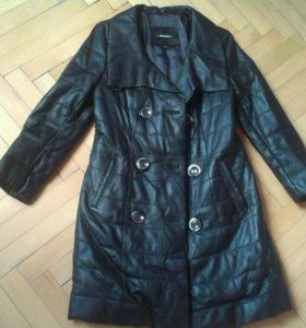 Кожанное пальто Marengo