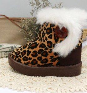 Угги леопард