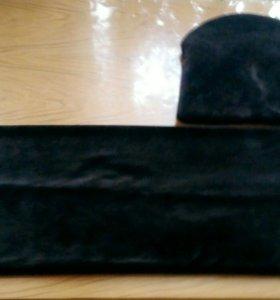 Снуд и шапка(комплект)