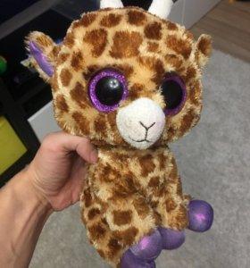 Жирафик мягкая игрушка