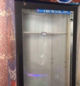Витринный холодильник пепси