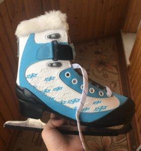 Коньки и ботинки для лыж