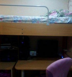 Кровать чердак в отличном состоянии