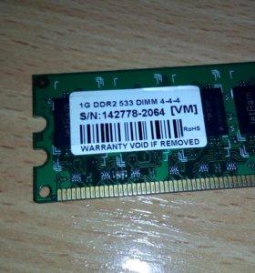 Память DDR II 512 и 1024 Mb