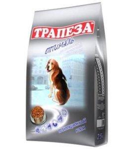 корм для собак ТРАПЕЗА Оптималь 13 кг