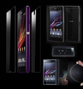 стекло Front+Back для Sony Xperia Z Ultra XL39H
