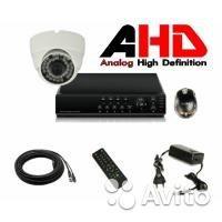 Видеонаблюдение на 1 камеру AHD