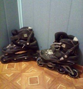 Ролики с ботинками