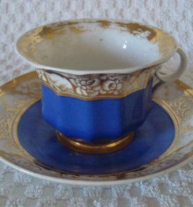 Чайная пара Сафронов 1820 г