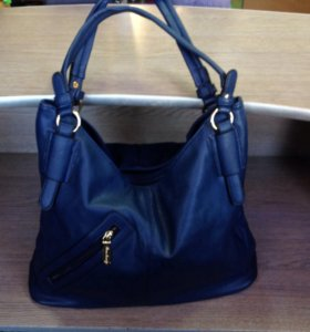Новая синяя сумка