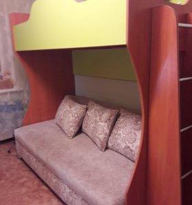Двухярусная диван-кровать